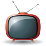 96x96px size png icon of television 08