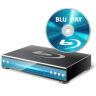 96x96px size png icon of BluRay Player Disc