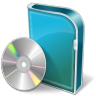 96x96px size png icon of DVD Box
