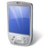 96x96px size png icon of PDA White