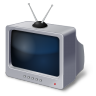 96x96px size png icon of TV Set Retro