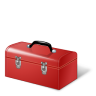 96x96px size png icon of Toolbox Red