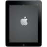 96x96px size png icon of iPad Front Apple Logo