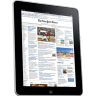 96x96px size png icon of iPad Side Newspaper