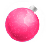 96x96px size png icon of Christmas ball pink