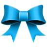 96x96px size png icon of Ribbon Blue