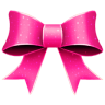 96x96px size png icon of Ribbon Pink Pattern