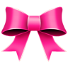96x96px size png icon of Ribbon Pink