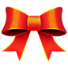 96x96px size png icon of Ribbon Red Pattern