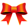96x96px size png icon of Ribbon Red