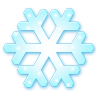 96x96px size png icon of Snow flake
