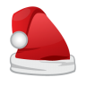 96x96px size png icon of Christmas Santa Cap