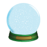 96x96px size png icon of Christmas Snow Globe