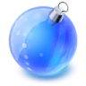 96x96px size png icon of christmas ball