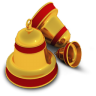 96x96px size png icon of Xmas Bells