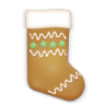 96x96px size png icon of christmas cookie stockings