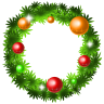 96x96px size png icon of christmas wreath