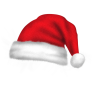 96x96px size png icon of santa hat