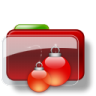 96x96px size png icon of Christmas Folder Balls