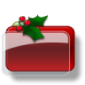 96x96px size png icon of Christmas Folder Blank