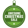 96x96px size png icon of Awesome christmas sale