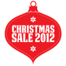 96x96px size png icon of Christmas sale 2012 red
