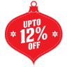 96x96px size png icon of upto 12 percent off
