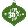 96x96px size png icon of upto 36 percent off