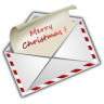 96x96px size png icon of Christmas Letter