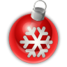 96x96px size png icon of Christmas Ornament 1