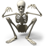 96x96px size png icon of Skeleton