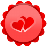 96x96px size png icon of Heart Inside