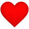 96x96px size png icon of Heart Shadow