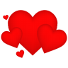 96x96px size png icon of Hearts