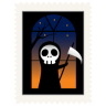 96x96px size png icon of stamp skeleton