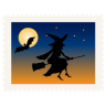 96x96px size png icon of stamp witch