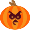 96x96px size png icon of Pumpkin Bird