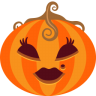 96x96px size png icon of Pumpkin Lady