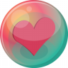 96x96px size png icon of heart pink 2
