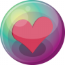 96x96px size png icon of heart pink 3