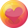 96x96px size png icon of heart pink 4