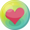 96x96px size png icon of heart pink 5