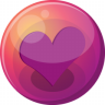96x96px size png icon of heart purple 1