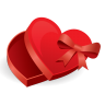 96x96px size png icon of love box