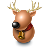96x96px size png icon of Reindeer