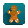 96x96px size png icon of Gingerbread
