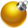 96x96px size png icon of ball yellow 2