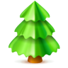 96x96px size png icon of christmas tree