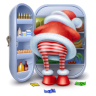 96x96px size png icon of santa steal