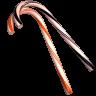 96x96px size png icon of cane orange black